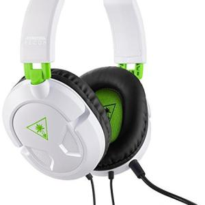 Xbox 360: (F) Turtle Beach Ear Force Recon 50X Wired Headset White (Faulty)