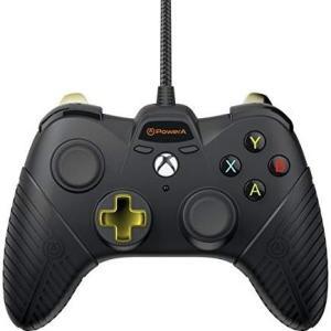 Xbox One: Power A Fusion Wired Ohjain (Musta)(Vaurioitut pakkaus)