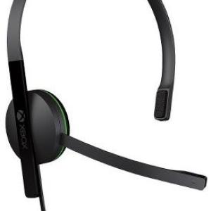 Xbox One: (F) Xbox One Chat Headset (Musta) (Faulty)