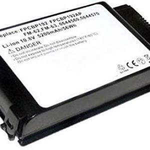 PC: Amsahr  Replacement Battery for FUJITSU BP192 4400 mAh, 10.8 Volts & 6 Cell /Laptop