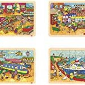 Akros52235 Set Transport Puzzle (4-Piece)