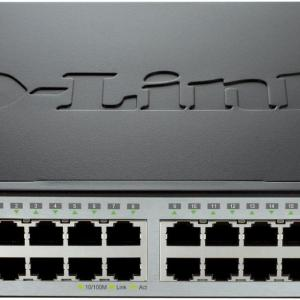 D-Link 18PORT,L2 DES-3200-18 network switch