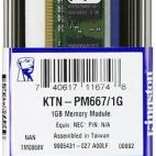 Kingston KTN-PM667/1G Memory 1 GB DDR-SDRAM Kit