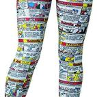 Rasta Imposta Multi-Colour Bazooka - Womens Leggings (Size: Large