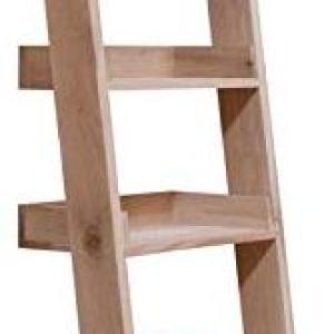 Garden Trading Hambledon Shelf Ladder, Small-Raw Oak, Wood, 35x48x180 cm