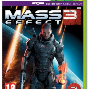 Xbox 360: Mass Effect 3 (Kinect Compatible) (käytetty)