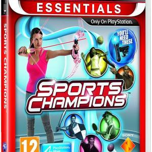 PS3: Sports Champions - Move (Essentials) (käytetty)
