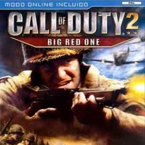 PS2: Call Of Duty 2 Big Red One (käytetty)
