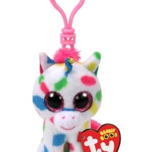 TY Beanie Boos HARMONIE - Speckled unicorn clip