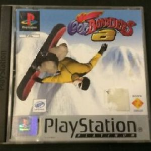 PS1: Cool Boarders 2 Platinum (CIB) (käytetty)
