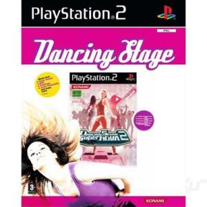 PS2: Dancing Stage + Tanssimatto (käytetty)