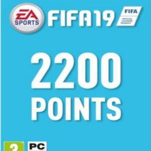 PC: FIFA 19 - 2200 FUT Points (latauskoodi)