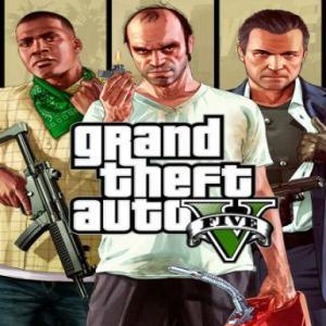 PC: Grand Theft Auto V GTA 5 - Premium Online Edition &: Megalodon Shark Card Bundle (latauskoodi)