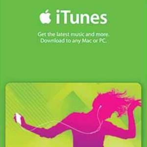 iTunes $20 Gift Card (latauskoodi)