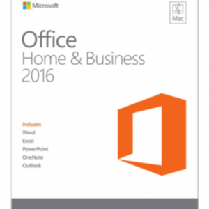 Microsoft Office 2016 Home and Business MAC OS (latauskoodi)