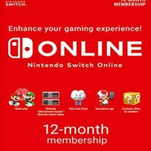 Nintendo 12 month Swich Subscription (latauskoodi)