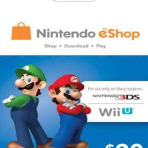 PC: Nintendo eShop $20 (latauskoodi)