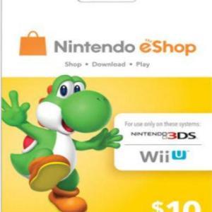 PC: Nintendo eShop $10 (latauskoodi)
