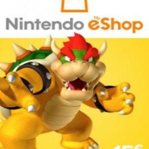 Xbox 360: Nintendo eShop Card EUROPE 15 EUR (latauskoodi)