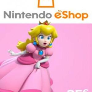 PC: Nintendo eShop Card EUROPE 25 EUR (latauskoodi)