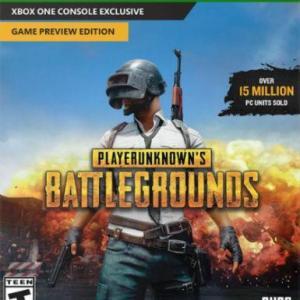 Xbox One: Xbox One: Playerunknowns Battlegrounds (latauskoodi)