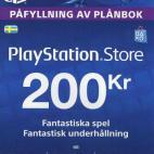 PS4: Playstation Network Card (PSN) 200 SEK (Sweden) (latauskoodi)