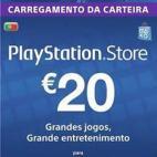 PS4: Playstation Network Card (PSN) 20 EUR (Portugal) (latauskoodi)