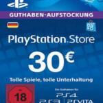 PS4: Playstation Network Card (PSN) 30 EUR (Saksa) (latauskoodi)