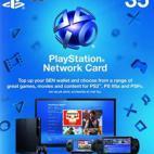 PS4: PlayStation Network Card (PSN) 35£ (UK) (latauskoodi)