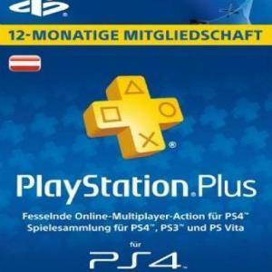 PS4: Playstation Network Card (PSN) 365 days (Austrian) (latauskoodi)