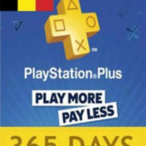 PS4: Playstation Network Card (PSN) 365 days (Belgium) (latauskoodi)