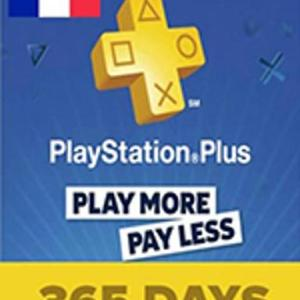 PS4: PlayStation Network Card (PSN) 365 Days (Ranska) (latauskoodi)