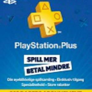 PS4: Playstation Network Card (PSN) 365 days (Norway) (latauskoodi)