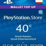 PS4: Playstation Network Card (PSN) 40€ (Austrian) (latauskoodi)
