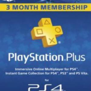 PS4: Playstation Network Card (PSN) 90 days (Denmark) (latauskoodi)
