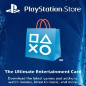 PS4: PlayStation Network Card (PSN) 100 $ (USA) (latauskoodi)