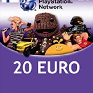 PS4: Playstation Network Card (PSN) 20 EUR (Finland) (latauskoodi)