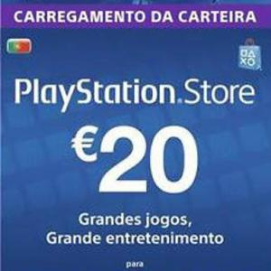 PS4: Playstation Network Card (PSN) 20 EUR (Portugal) (latauskoodi)