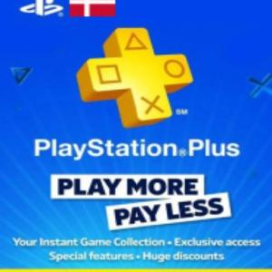 PS4: Playstation Network Card (PSN) 365 days (Denmark) (latauskoodi)