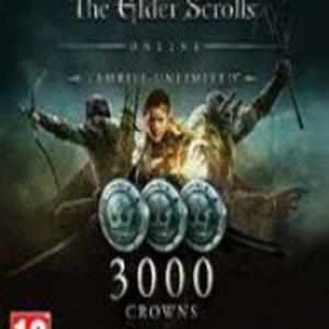 PC: The Elder Scrolls Online - 3000 Crown Pack (latauskoodi)