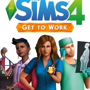 The Sims 4: Get to Work (latauskoodi)