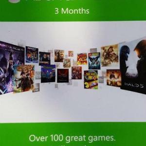 Xbox One: Xbox One: Xbox Game Pass 3 months (latauskoodi)