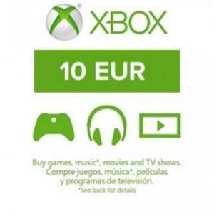Xbox One: Xbox Live 10 EUR (latauskoodi)