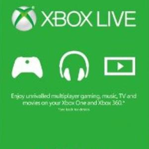 Xbox One: Xbox Live Gold 3 month (latauskoodi)