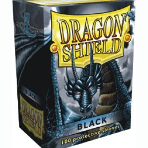 Dragon Shield Standard Sleeves ­Classic Black (100 Sleeves)