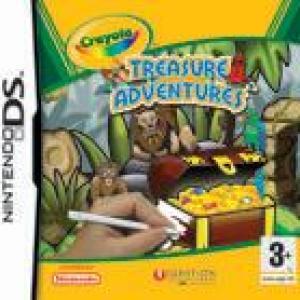 NDS: Crayola Treasure Adventures (käytetty)