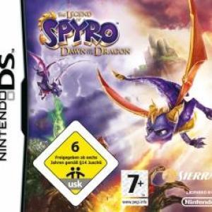 NDS: Spyro Dawn Of The Dragon (käytetty)