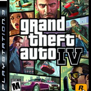PS3: GTA 4 (Grand Theft Auto IV) (käytetty)