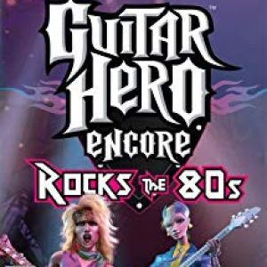 PS2: Guitar Hero Rocks the 80s peli (käytetty)
