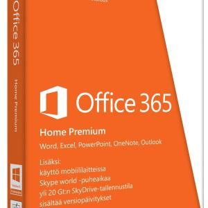 PC: Microsoft Office 365 Home 1 Year 5 PC (latauskoodi)